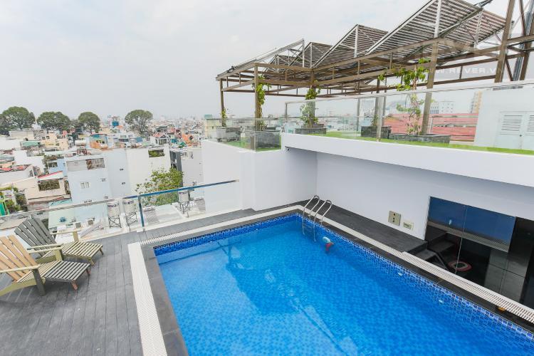 Hồ Bơi Căn hộ dịch vụ 1 phòng ngủ đường Trần Quang Diệu Quận 3