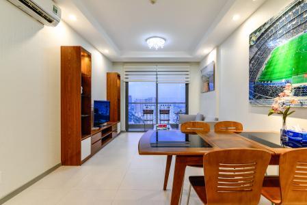 Cho thuê căn hộ The Gold View tầng cao, view đẹp, 2PN đầy đủ nội thất