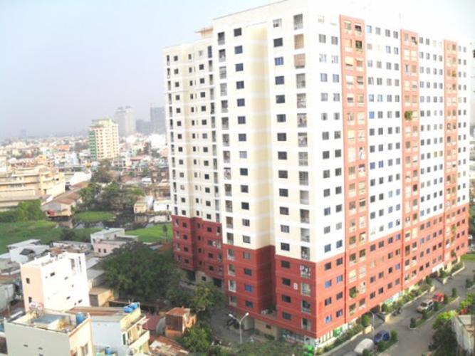 Chung cư Mỹ Phước, Bình Thạnh Căn hộ chung cư Mỹ Phước tầng thấp, hướng Bắc, đầy đủ nội thất.