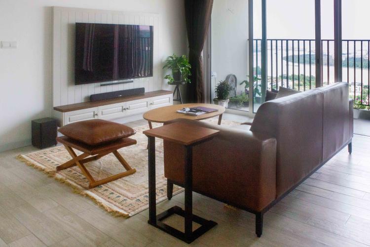Phòng Khách Bán căn hộ Vista Verde 3 phòng ngủ, đầy đủ nội thất, view trực diện sông Sài Gòn