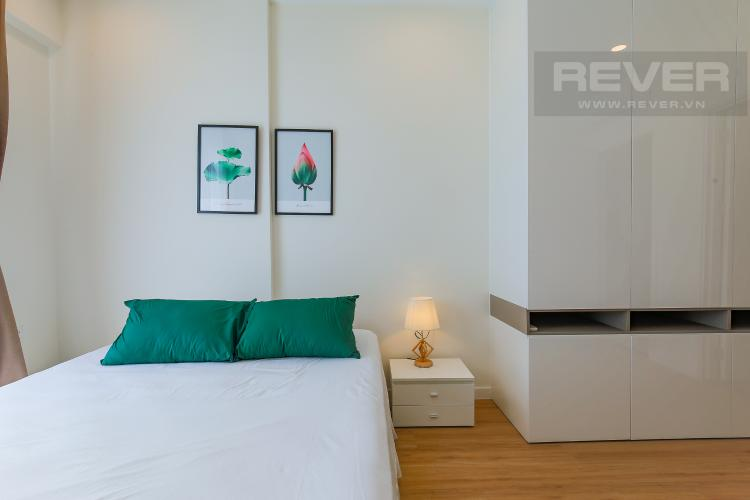 Phòng Ngủ 1 Cho thuê căn hộ Masteri Millennium tầng trung, 2PN, nội thất đầy đủ
