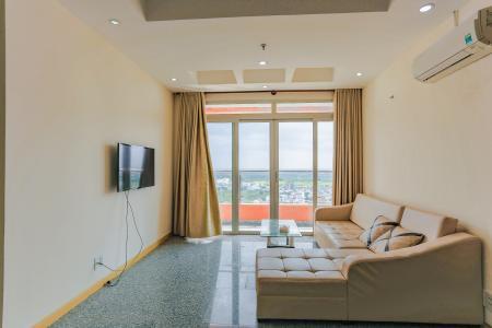 Căn hộ Dragon Hill Residence and Suites tầng cao, tháp B, 2 phòng ngủ, full nội thất