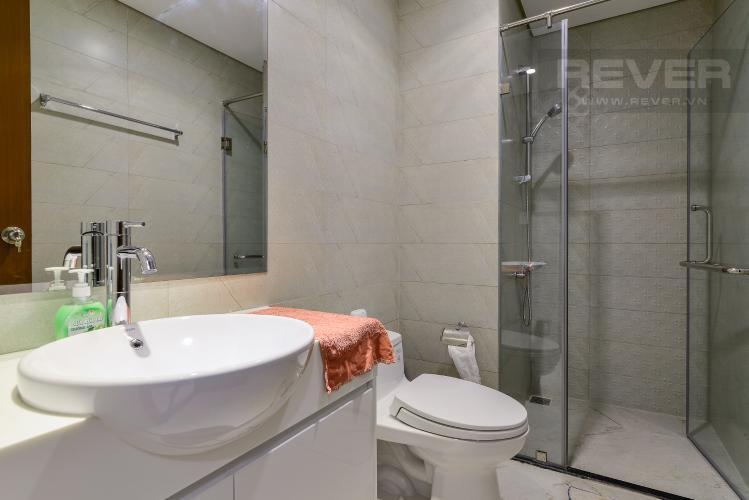 Phòng Tắm 1 Cho thuê căn hộ Vinhomes Central Park tầng cao, 2PN đầy đủ nội thất, tiện nghi, view nội khu