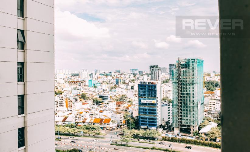 View Bán căn hộ Saigon Royal 1PN, tầng cao, block A, diện tích 53m2, view hồ bơi