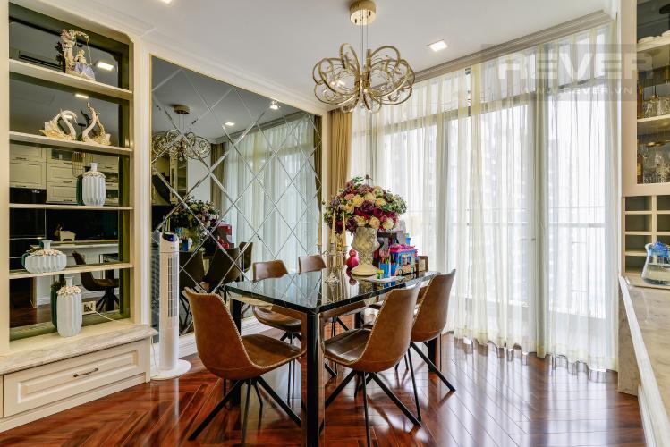 Phòng Ăn Căn hộ Vinhomes Central Park tầng cao, tháp Park 7, 2PN, nội thất đầy đủ