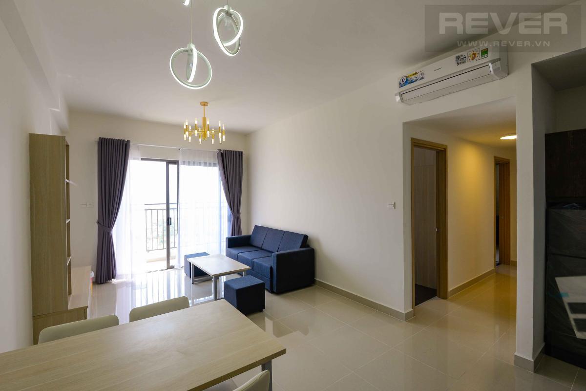 Phòng khách 1 Cho thuê căn hộ The Sun Avenue 3PN, tầng 18, block 5, là căn góc, đầy đủ nội thất, view thoáng