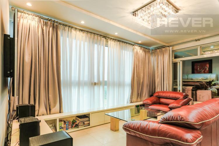 Phòng Khách Căn hộ Star Hill Phú Mỹ Hưng tầng trung, tháp B, 3 phòng ngủ, view hồ bơi.