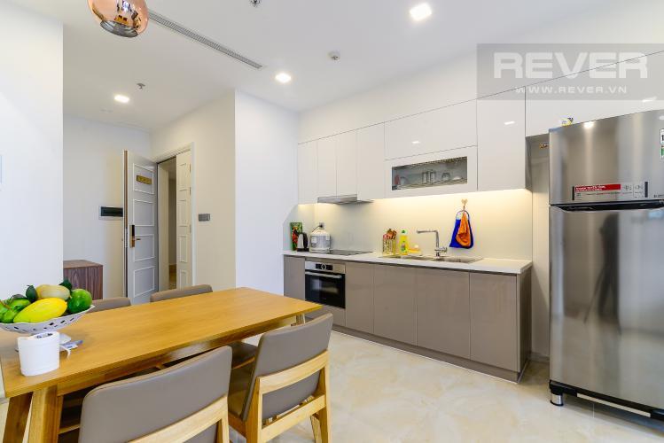 Nhà Bếp Cho thuê căn hộ Vinhomes Golden River 1PN, tầng cao, tháp The Aqua 1, đầy đủ nội thất, view sông Sài Gòn thoáng mát