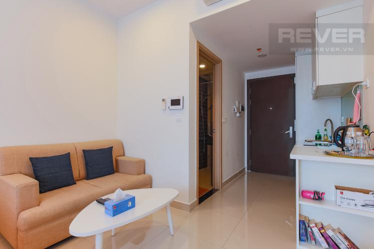 Phòng Khách Bán căn office-tel RiverGate Residence 1PN, đầy đủ nội thất, view đẹp