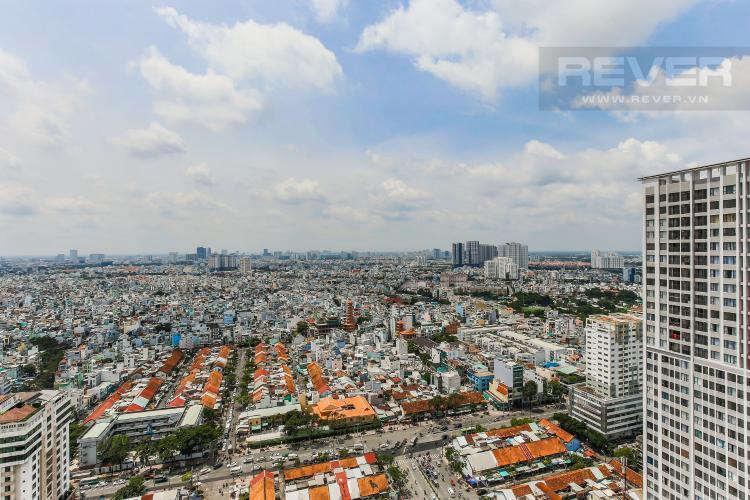 View Cho thuê căn hộ Masteri Millennium tầng cao, 2PN, đầy đủ nội thất
