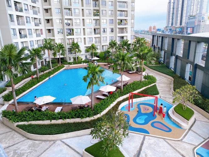 Tiện ích Masteri Thảo Điền Quận 2 Căn hộ Masteri Thảo Điền view nội khu hồ bơi, nội thất sang trọng.