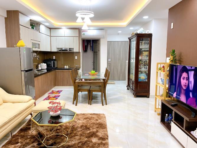 Phòng khách  Saigon South Residence Căn hộ Saigon South Residence tầng cao, đầy đủ nội thất, view nội khu.