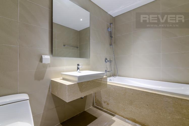 Phòng Tắm 1 Cho thuê căn hộ Đảo Kim Cương 2 phòng ngủ tháp Bora Bora, view sông mát mẻ và trong lành