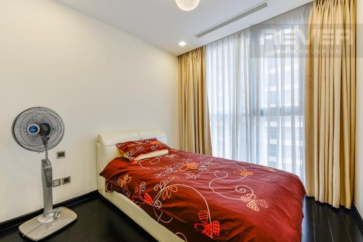 Phòng ngủ 3 Căn hộ Vinhomes Central Park 3 phòng ngủ tầng cao P3 full nội thất