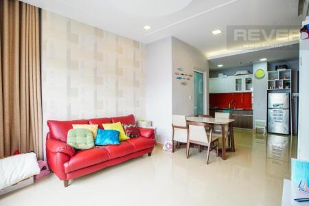 Cho thuê căn hộ Sunrise City 1 phòng ngủ, diện tích 60m2, đầy đủ nội thất, view thông thoáng
