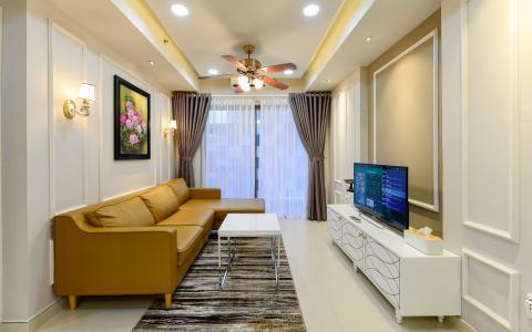 Căn hộ Masteri Thảo Điền trung tầng T5 thiết kế đẹp, đầy đủ tiện nghi