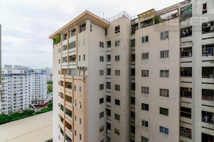 View Cho thuê căn hộ The Gold View 2PN, tầng trung tháp A, đầy đủ nội thất, hướng Tây Nam
