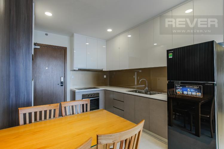 Phòng Bếp Căn hộ Masteri Millennium tầng cao, block B, 2PN nội thất đầy đủ
