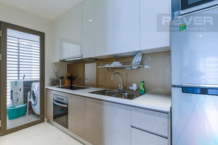 Phòng Bếp Căn hộ Masteri Millennium tầng cao view sông, 2PN đầy đủ nội thất