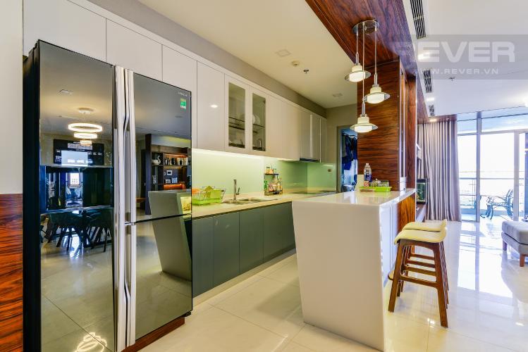 Nhà Bếp Căn hộ Vinhomes Central Park 4 phòng ngủ tầng thấp P2 view sông