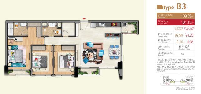 Bán căn hộ ban công hướng Bắc, nội thất cơ bản Urban Hill