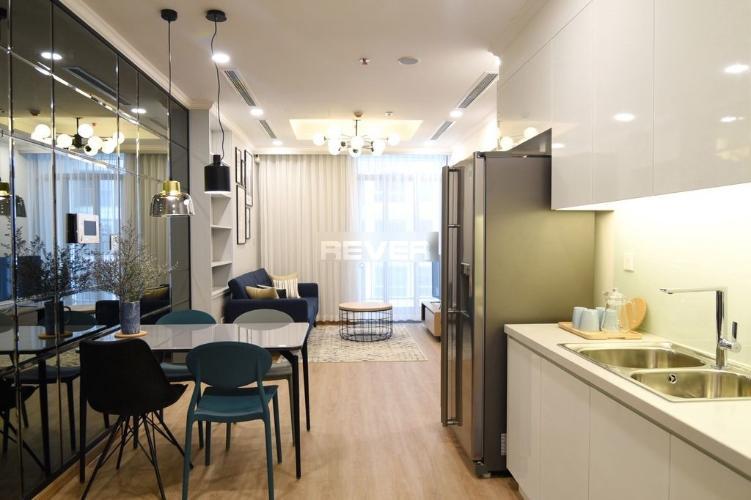 Phòng bếp Vinhomes Central Park Căn hộ Vinhomes Central Park view nội khu hồ bơi, 1 phòng ngủ.