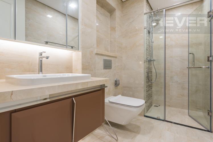 Phòng tắm Căn hộ Vinhomes Golden River tầng trung, 1PN đầy đủ nội thất, tiện ích đa dạng