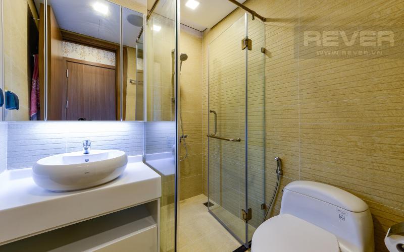phòng tắm 2 Căn hộ Vinhomes Central Park tầng cao Park 6 thiết kế hiện đại, sang trọng