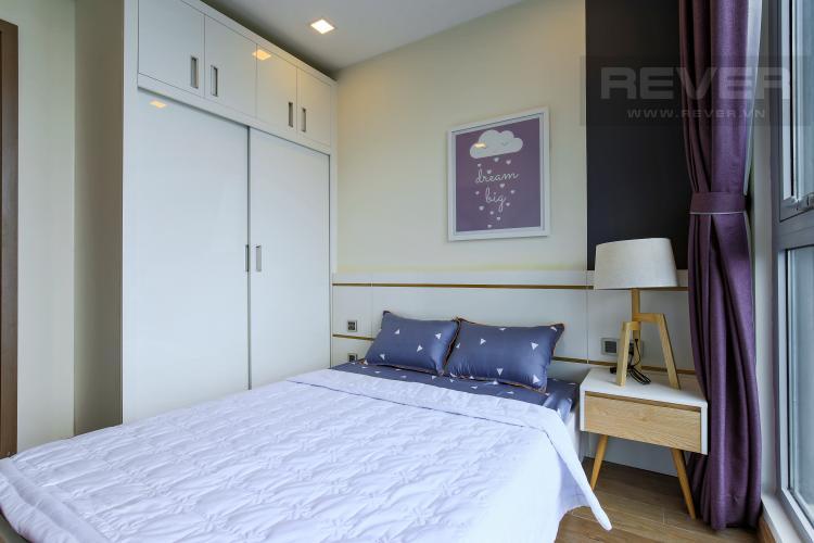 Phòng Ngủ 1 Căn hộ Vinhomes Central Park tầng cao Park 6 đầy đủ nội thất, view sông