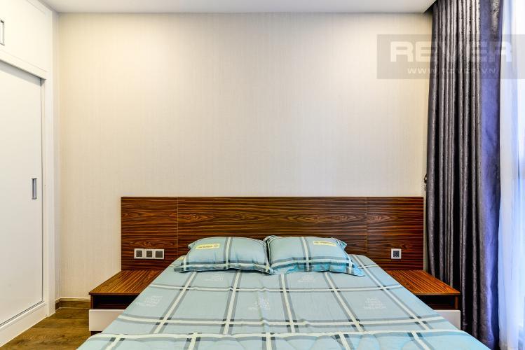 Phòng Ngủ 2 Căn hộ Vinhomes Central Park 2 phòng ngủ tầng trung P2 hướng Đông Bắc
