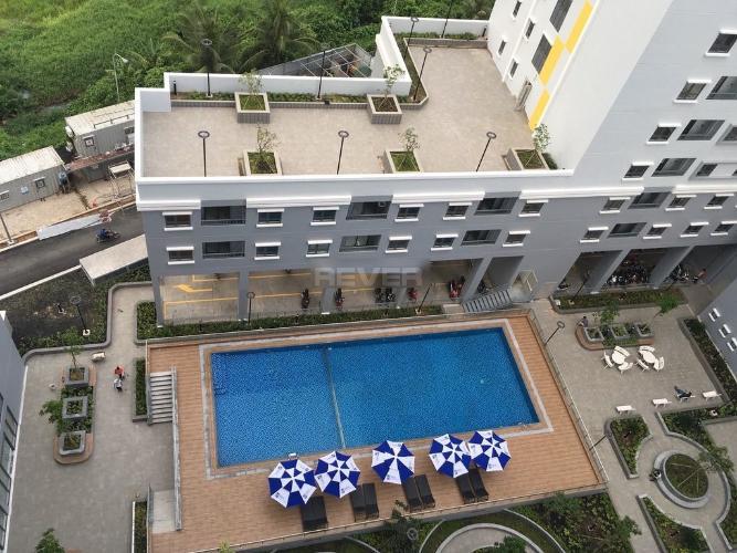 View nội khu Fresca Riverside, Thủ Đức Căn hộ Fresca Riverside tầng trung, nội thất cơ bản.