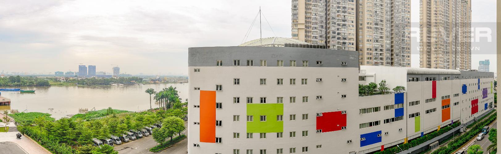 View Căn hộ Vinhomes Central Park 3 phòng ngủ tầng thấp Central 1
