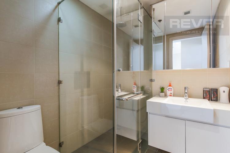Phòng Tắm Cho thuê căn hộ City Garden tầng trung 1 phòng ngủ, đầy đủ nội thất, view hồ bơi mát mẻ