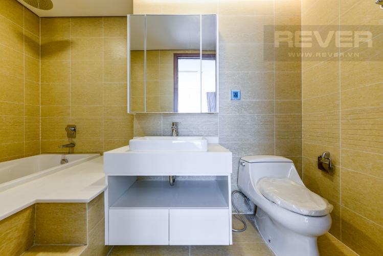 Phòng tắm 1 Căn hộ Vinhomes Central Park tầng cao, tháp Park 4, 2PN nội thất đầy đủ, view sông