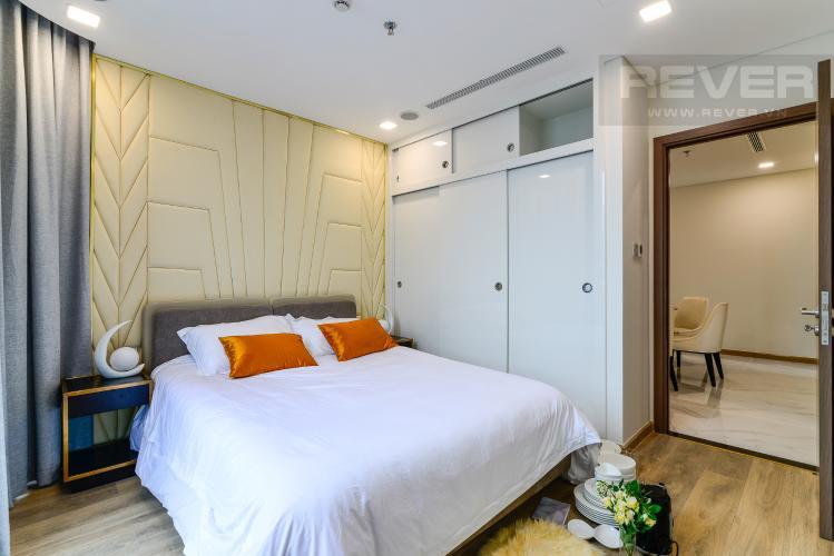 Phòng Ngủ 2 Bán căn hộ Vinhomes Central Park 3PN, tầng cao, đầy đủ nội thất, thuộc tháp Landmark 81
