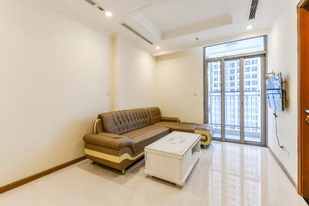 Officetel Vinhomes Central Park 2 phòng ngủ tầng trung L4 đầy đủ tiện nghi