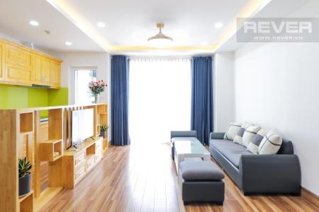 Cho thuê căn hộ Sunrise CityView 2PN, diện tích 109m2, đầy đủ nội thất, view cầu Phú Mỹ