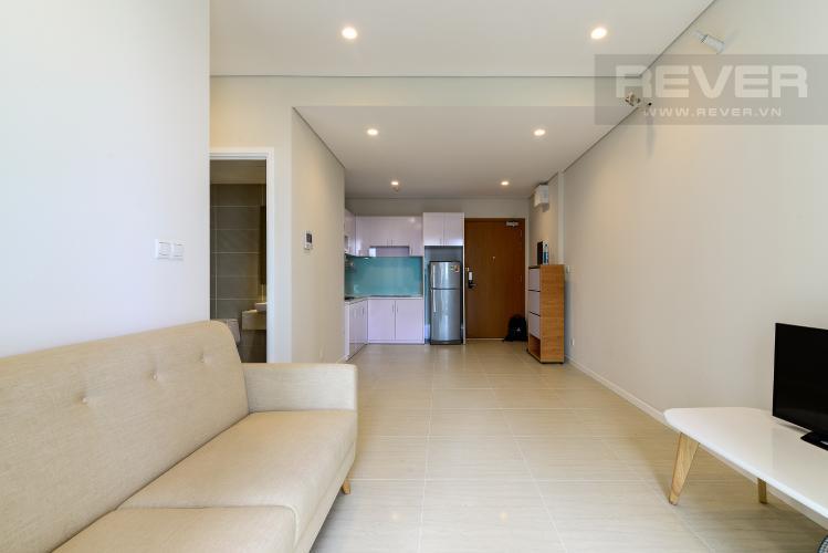 Phòng Khách Bán căn hộ Diamond Island - Đảo Kim Cương 1PN, tháp Canary, đầy đủ nội thất, view sông yên tĩnh