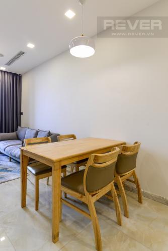 Không gian căn hộ Vinhomes Golden River Căn hộ Vinhomes Golden River view nội khu yên tĩnh, tầng thấp.