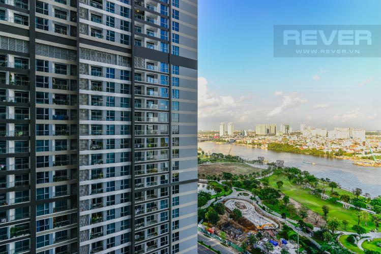 View Căn hộ Vinhomes Central Park 2PN đầy đủ nội thất, view sông Sài Gòn