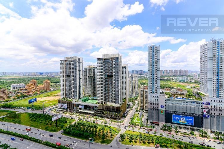 View Cho thuê căn hộ Masteri An Phú, tầng cao, tháp A, đầy đủ nội thất, view Xa lộ Hà Nội