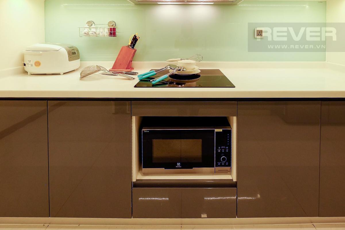 Tủ bếp Bán căn hộ Vinhomes Central Park 3PN, tháp Park 1, diện tích 116m2, đầy đủ nội thất