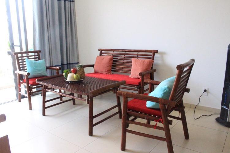 Phòng khách căn hộ HAUSNEO Bán hoặc cho thuê căn hộ HausNeo 1PN, tầng 5, không có nội thất