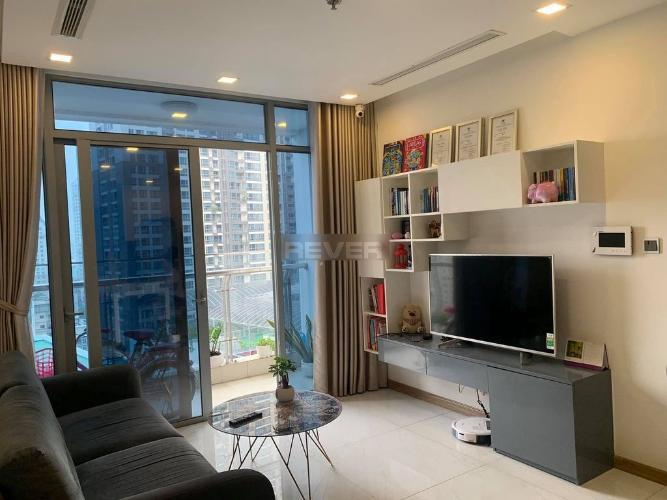 Căn hộ 2 phòng ngủ Vinhomes Central Park nội thất đầy đủ