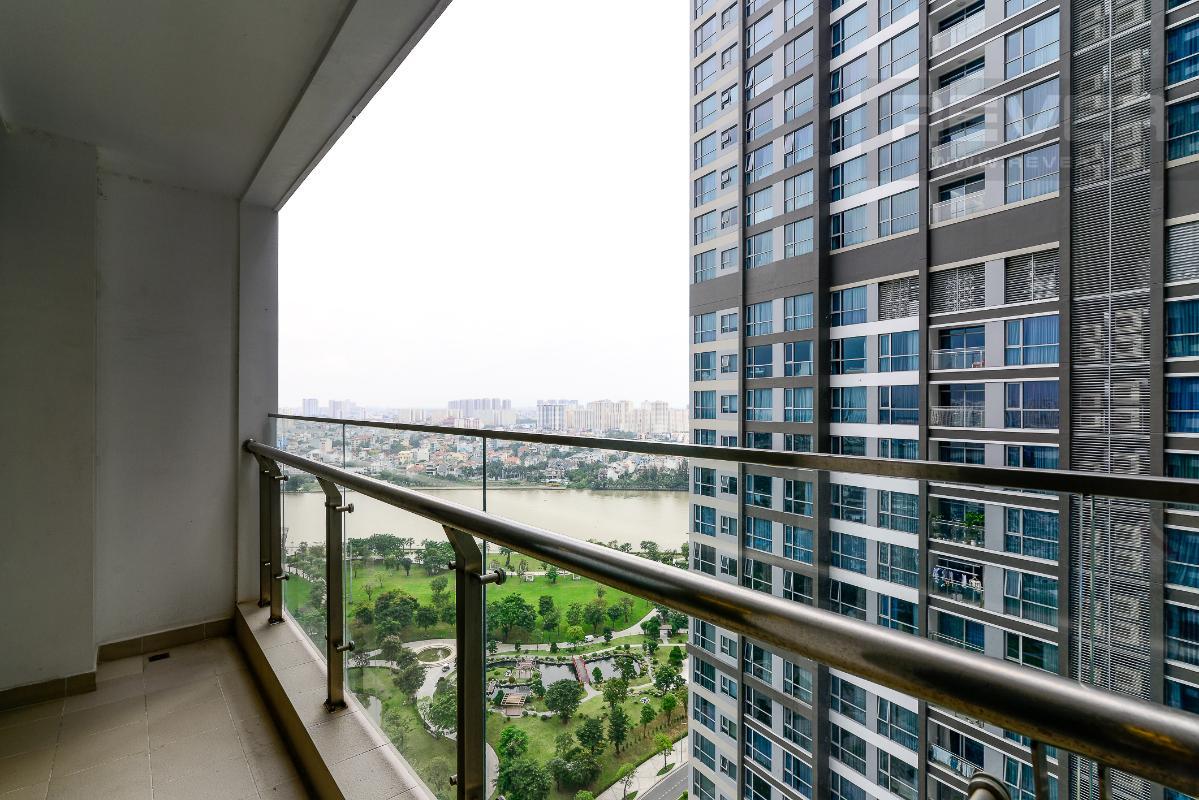 _DSC4016 Bán căn hộ Vinhomes Central Park 2PN, tháp Park 5, đầy đủ nội thất, view sông và công viên xanh mát