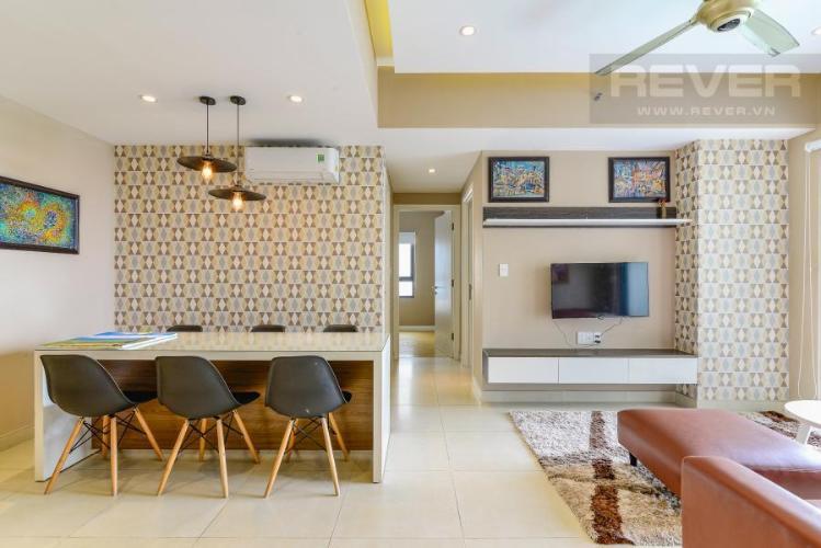 Bếp Căn hộ Masteri Thảo Điền 2 phòng ngủ tầng cao T1 đầy đủ nội thất