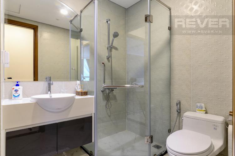 Phòng Tắm 1 Căn hộ Vinhomes Central Park tầng cao, Landmark 6, 2PN đầy đủ nội thất