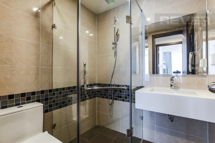 Phòng Tắm 2 Căn hộ Masteri Millennium tầng trung, 2PN đầy đủ nội thất