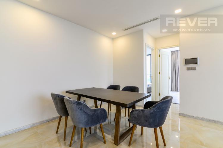 Phòng Ăn Cho thuê căn hộ Vinhomes Golden River tầng cao 3PN view sông