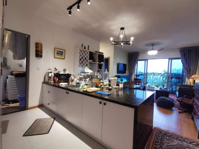 Phòng bếp Palm Heights, Quận 2 Căn hộ Palm Heights nội thất đầy đủ, view Landmark 81.